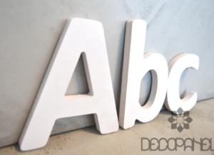 Dekoracyjne Litery 3d Napisy Na ścianę Inspiracje Decopanel